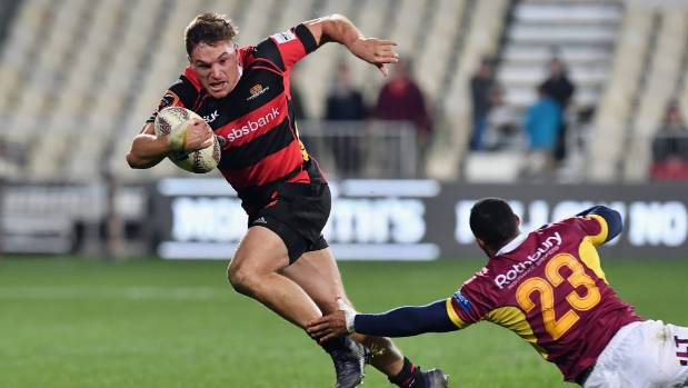 George Bridge had an outstanding Super Rugby campaign with the Crusaders and is one to watch for the future.