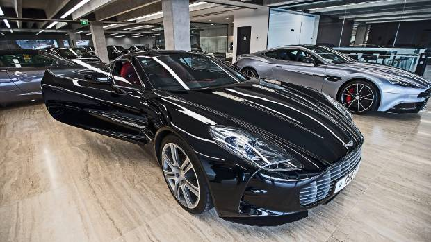 The $4 million Aston Martin One-77 can go from zero to 100kmph in just 3.7 seconds.