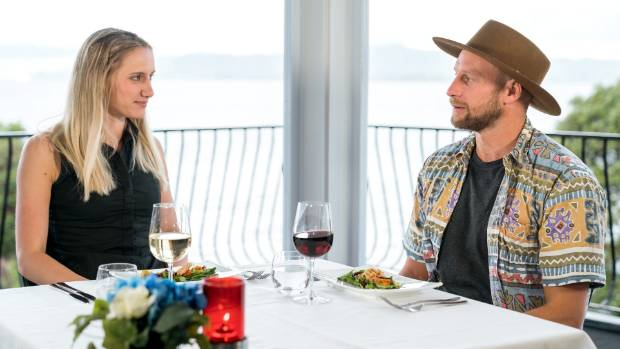 Married at First Sight New Zealand couple Luke and Lacey on their honeymoon in Rotorua.