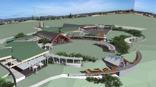 Planning works underway for proposed west auckland marae for Landscape design west auckland