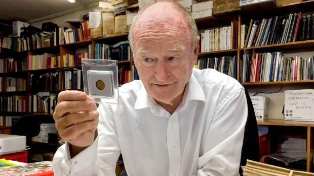 International stamp and coin dealer John Mowbray of Mowbray Collectables, Otaki.