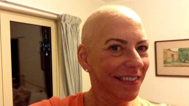 Christine Gabrielle lost her hair during chemotherapy treatment for breast cancer which she said brought the reality of ...