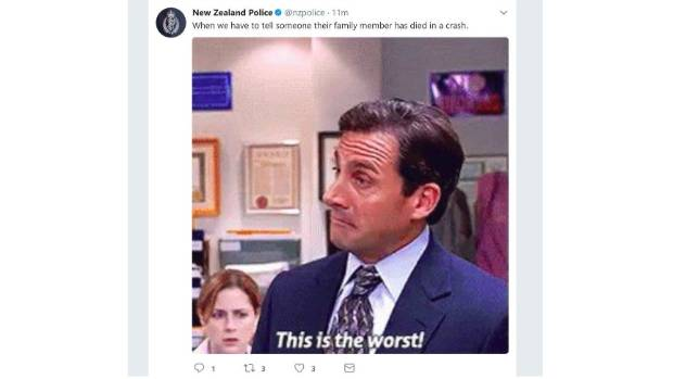 New Zealand Police delete offensive tweet