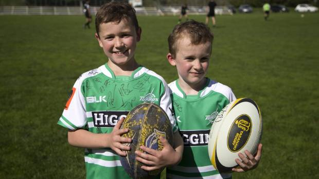 Cooper, 8, and Miller, 7, Templeton said Friday night was the only time this season they were cheering for Taranaki, ...