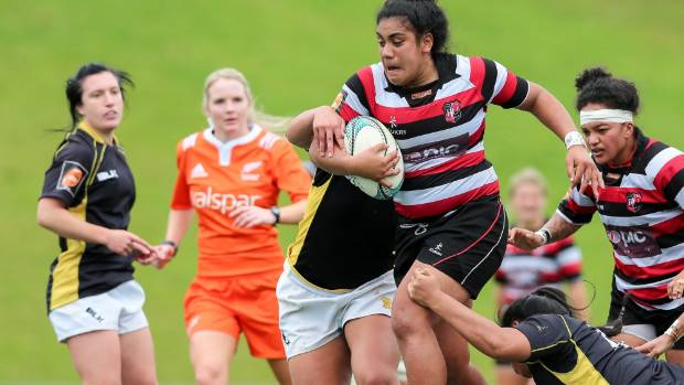 Counties Manukau Heat first-five Victoria Subritzky-Nafatali scored a hat-trick against Wellington last Saturday.