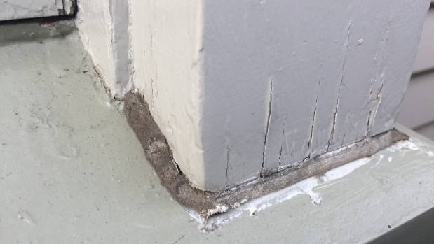 Georgie Hanafin found cracks and foundation damage after she bought her earthquake-repaired house in Linwood, Christchurch.