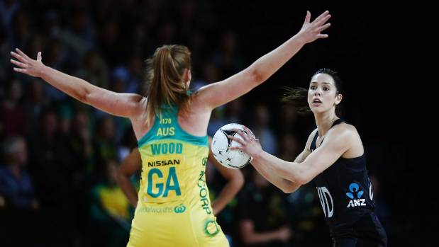 Kayla Cullen and the Silver Ferns have found it tough to break through some relentless Australian defence in the ...