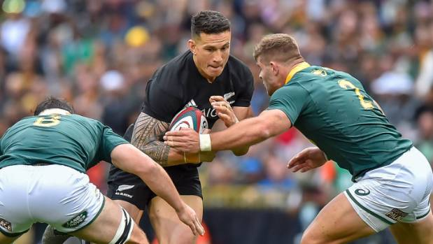 Sonny Bill Williams is no longer the threat on attack that he once was.