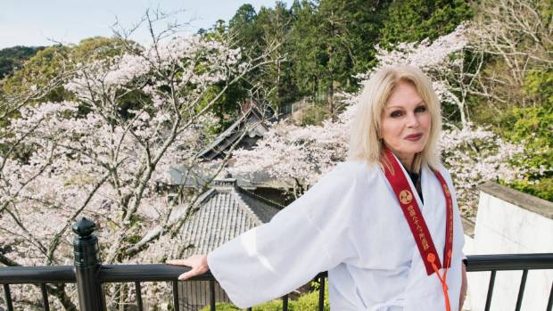 Joanna Lumley's journey around Japan was a steep learning curve.