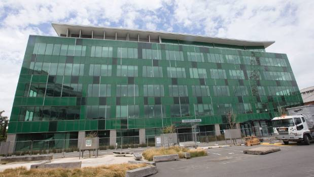 Statistics House, on reclaimed land on Wellington's waterfront, will have to be demolished after it was damaged in ...