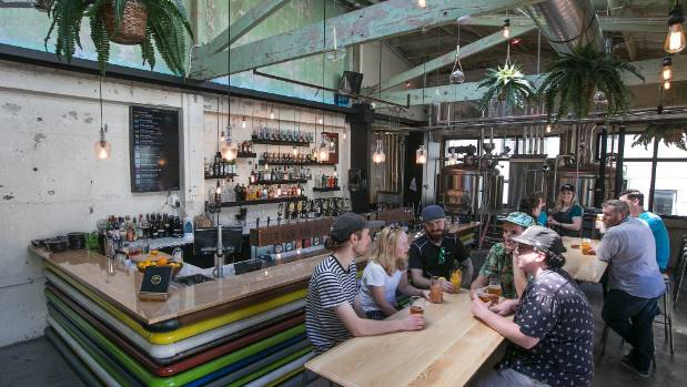 A sensitive renovation adds to the steampunk vibe at Fortune Favours, Te Aro's latest brewbar.