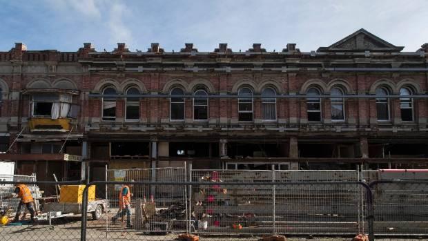 Richard Peebles has developments under way on lower High St.