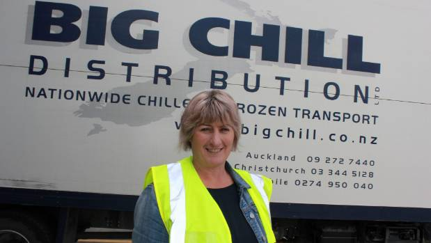 Big Chill Distribution depot manager Louise Fissenden wants the council tsunami maps on its website to be clear and accurate.