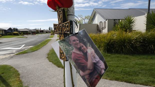 A memorial to Thomas Armit at the Glenavon Dr and Thorp St intersection in Motueka.