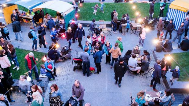 The popularity of recent markets heralds the return of regular markets at the Arts Centre.