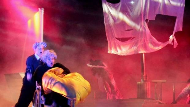 Scene from the Auckland Performing Arts Centre's new play, Tom's Marvellous Imagination.