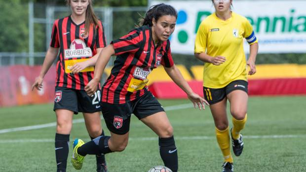Aimee Phillips will be a key attacking threat for Canterbury United Pride.