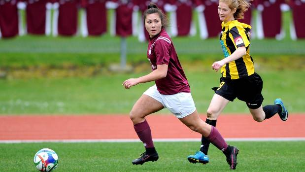 Shontelle Smith is one of several Dunedin Technical players who form the core of Southern United.