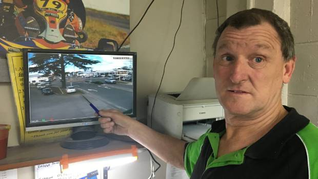Shaun Forbes has boosted the surveillance cameras at his Blenheim business to help catch lawbreakers.