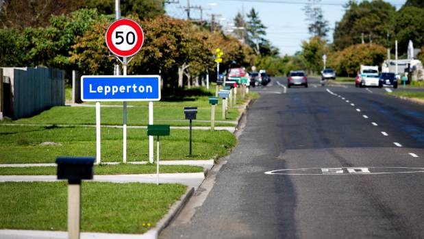 The New Plymouth District Council has decided to sell a small unformed road in Lepperton to a couple living there. (File ...