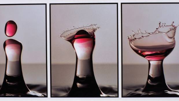 """Drop of Red"" by Nelson photographer Brian Dowling."