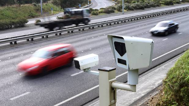 The speed camera in Wellington's Ngauranga Gorge is once again the nation's top ticketer.