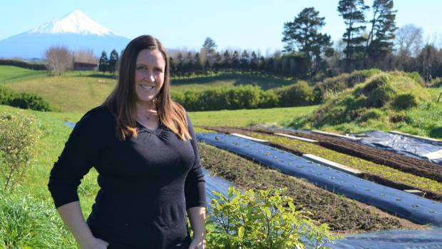 Michelle Busby of Goldbush Microfarm, which she and her husband Jarrod have recently set up. Theirs  is the only South ...