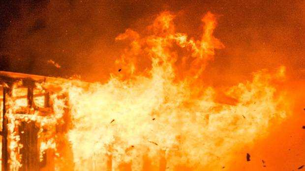Firefighters Were Called To Reports Of A House On Fire At A Dairy Farm On  Rakaia