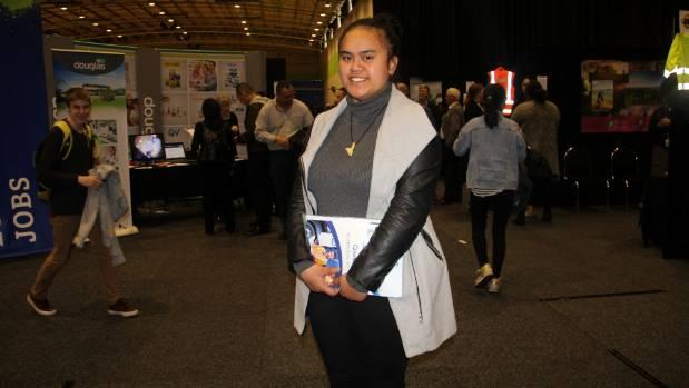 Nesha Tautari of Massey said she was desperate for a job.
