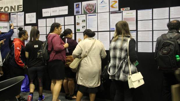 More than 500 young people attended JobFest west Auckland.
