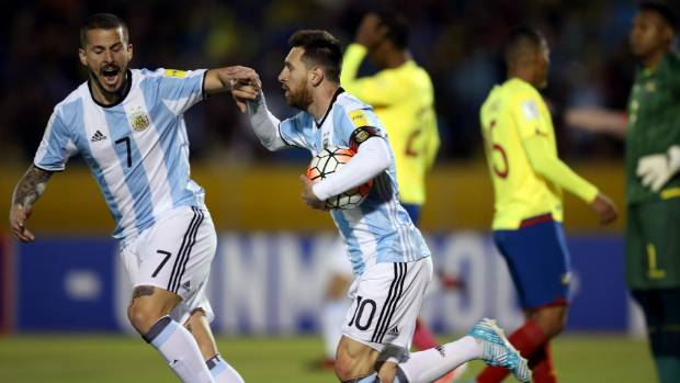 If Lionel Messi's Argentina team are the fourth best football team in the world, why have they struggled to qualify for ...