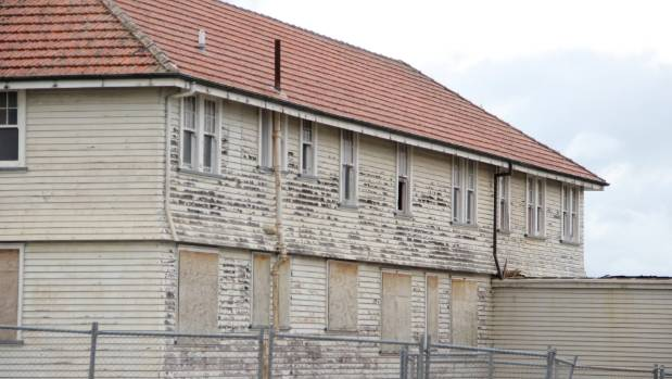 Work is going to begin in October, and it's going to take around a month to demolish the buildings.