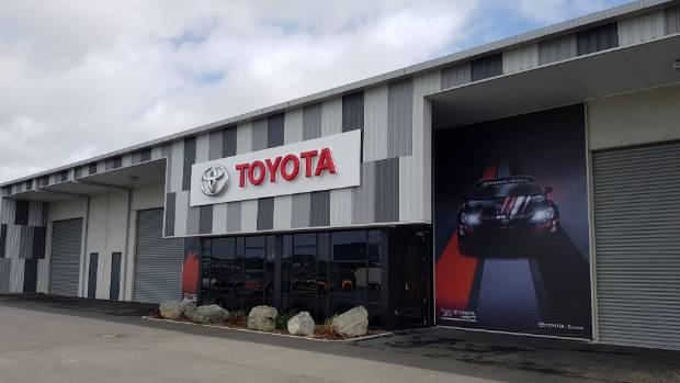 Hampton downs headquarters is next level stuff for toyota for Motor inn toyota of carroll