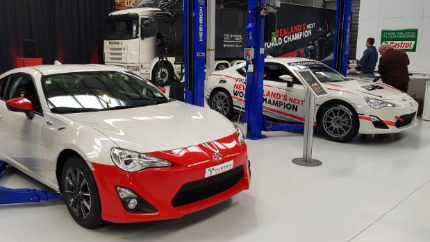 Hopefully Hampton's forthcoming four-star hotel will be as clean as Toyota Racing's new workshop.