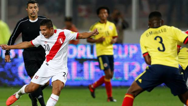 Peru will play the All Whites in November after finishing fifth in South American qualifying.