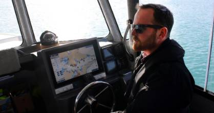 Harbourmaster Luke Grogan and his crew are using the latest hand-held and fixed speed camera technology to catch ...