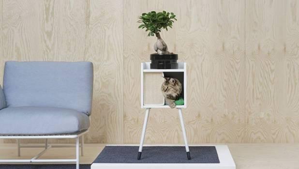 Lurvig Cat house on legs, US$54.98 (NZ$77.70).