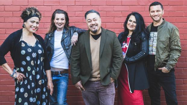 The artists for The Winery Tour 2018: Betty-Anne Monga, Hollie Smith, Che Fu, Annie Crummer and Jason Kerrison.