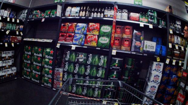 The cameras around 167 children's necks showed they were exposed to alcohol 78 times at 30 different supermarkets in ...
