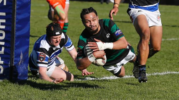 South Canterbury wing Kalavini Leatigago sits second on Heartland Championship try scoring table.
