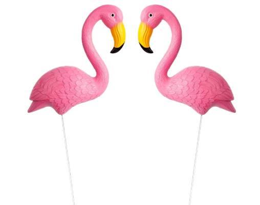 Sunnylife flamingo garden ornaments $38.40 (approx) www.sunnylife.com.au