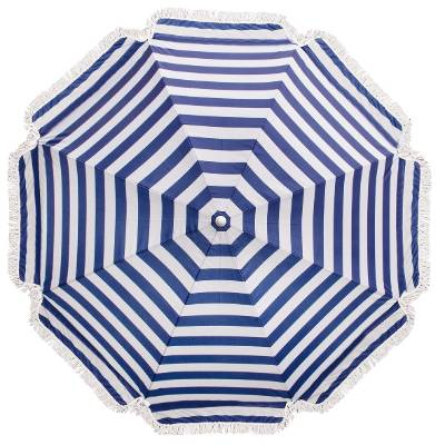 Striped sun umbrella $29 from The Warehouse