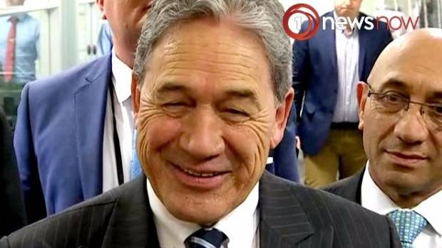 Winston Peters has had the run of the Beehive for the last 16 days.