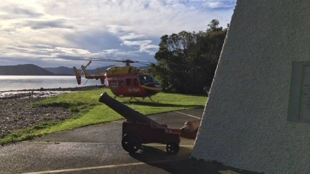 A teenage hiker in medical distress in the Marlborough Sounds has been flown to hospital.