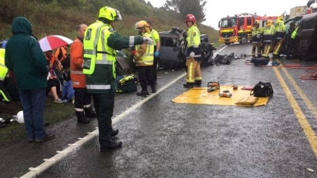 Four rescue helicopters were dispatched to Taupō to transport the injured to hospital.