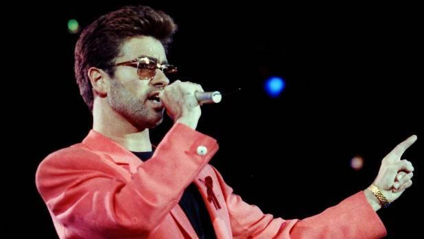 Along with the surviving members of Queen, George Michael delivered a showstopping performance of Somebody to Love in ...