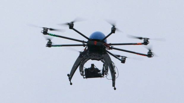 Drone collides with passenger jet in Canada