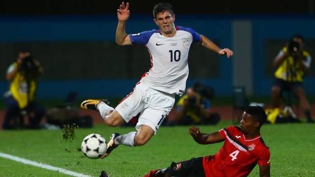 Christian Pulisic and the United States tumbled to a 2-1 defeat to Trinidad and Tobago, putting them out of the World Cup.