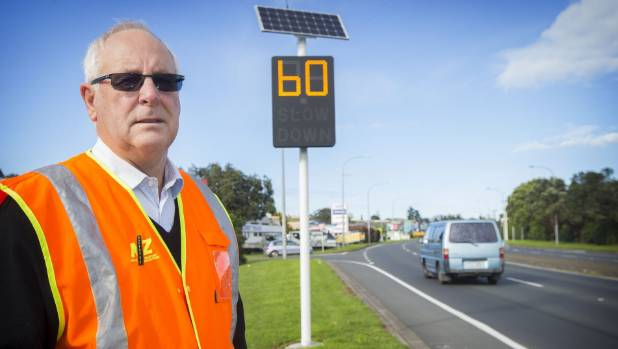 Tom Cloke said speed signs at Waiwhakaiho were ineffective to preventing crashes