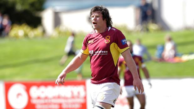 Southland Stags flanker Tim Boys during a Mitre 10 Cup game at Rugby Park in Invercargill this year.